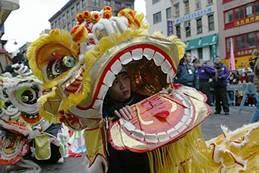 China Town Chinese Dragon