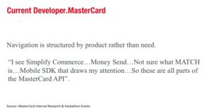Old Mastercard Developers Bad Navigation