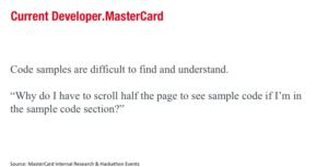 Old Mastercard Developers Bad Code Samples
