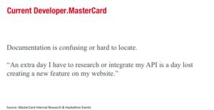 Old Mastercard Developers Bad Documentation