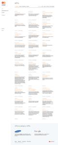 Mastercard Developers API Grid Current