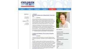 Children 1st Internal Page 2