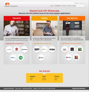 Old Mastercard Developers Showcase