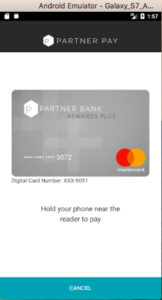 Partner Pay Android App NFC Payment