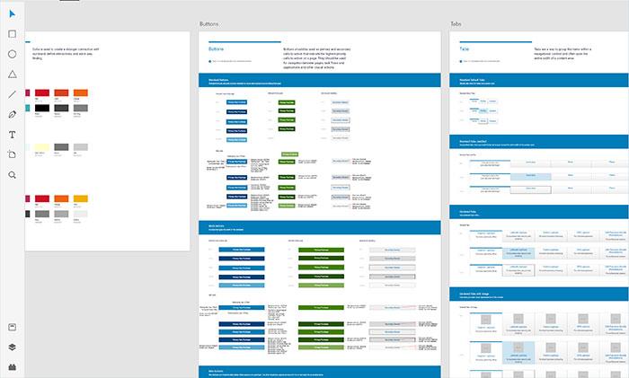 Dell Design System Adobe XD UI Kit